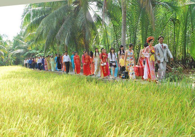 Nghi lễ cưới truyền thống