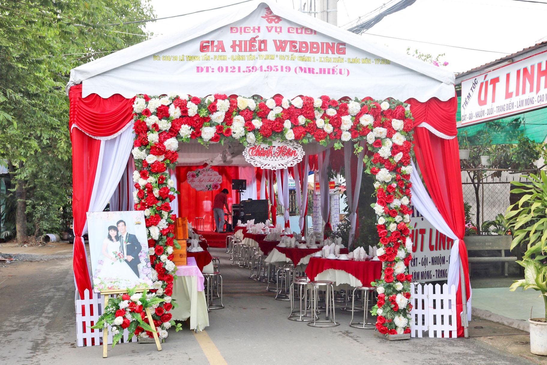 rạp cưới & cổng cưới